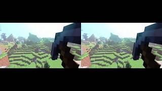 Minecraft vr 3d minecraft animation