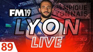 Football Manager 2019 | Lyon Live #89: Club Record Sale! #FM19