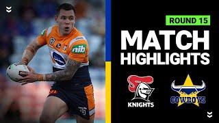 Knights v Cowboys | Round 15 2020 | Telstra Premiership | NRL