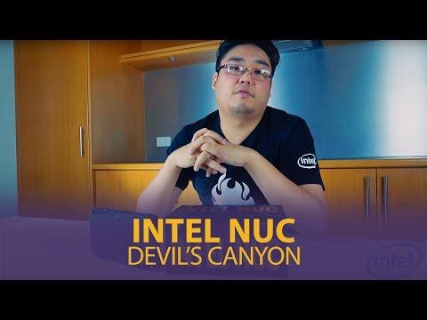 Intel Nuc I7 Skull Canyon Boxnuc6i7kyk4 Barebone Kit Mwave Youtube