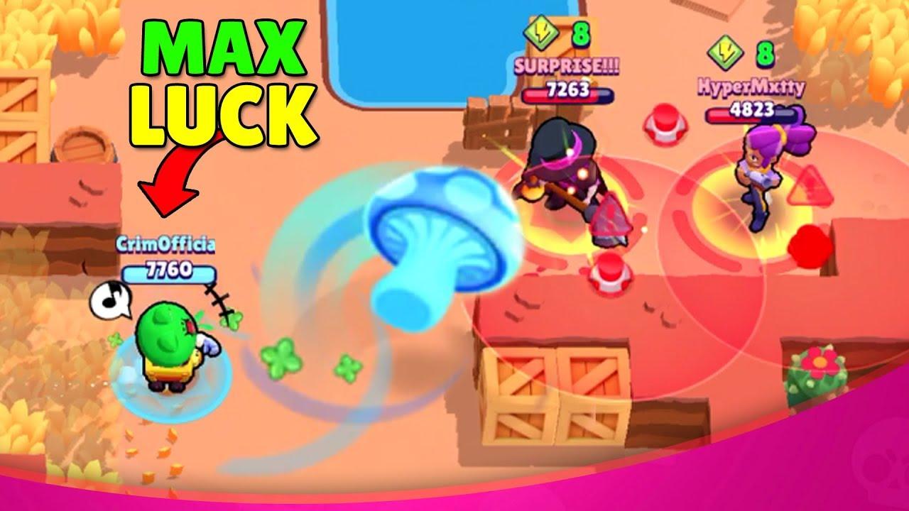 MAX LUCK Carl ???? Brawl Stars Funny Moments, Wins, Fails & Glitches