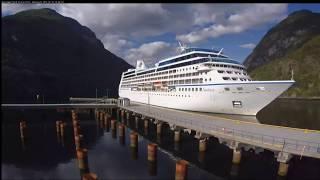 Webcam Geirangerfjord cruise port, Hellesylt (10.07.2017) - en325