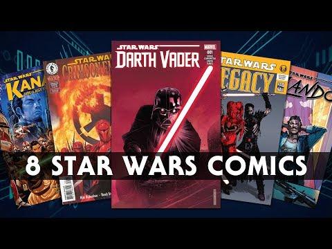 Eight MUST READ Star Wars Comics