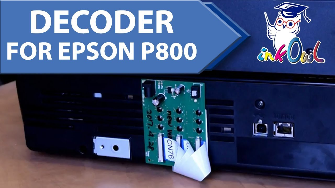 How to Install a Chip Decoder (Bypass) on Epson SureColor P800