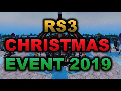 Rs3 Christmas 2020 RuneScape 3   Christmas Event 2019!   YouTube