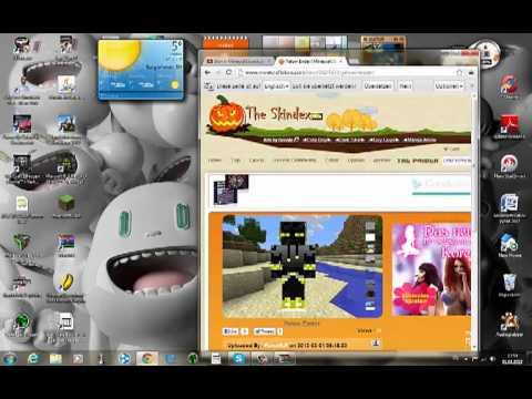 Wie Läd Man Einen Skin Runter Auch Wen Man Minecraft Craked Hat - Wie ladt man sich skins fur minecraft runter