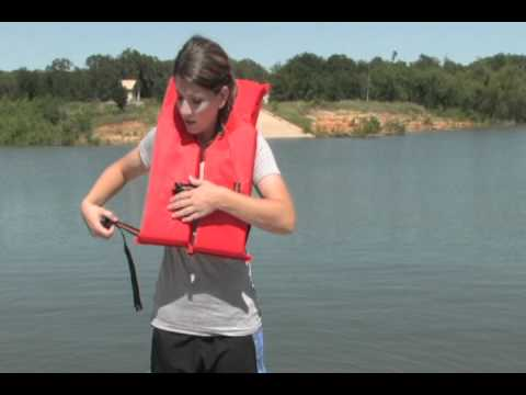 How To Wear A Type 2 Personal Floatation Device Youtube