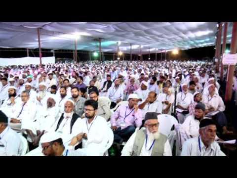 Syed Sadatullah Husini Sahab  Jamaat-e-Islami Hind All India Ijtema-e-Arkaan Hyderabad 2015