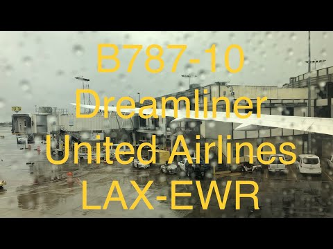 Boeing 787-10 United Airlines from LAX to EWR Economy Class.