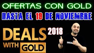 Ofertas con Gold Validas hasta el 19 de Noviembre, Deals with gold valid until November´s 19