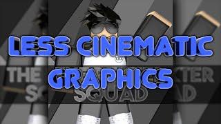 Less Cinematic Graphics: T.R.S. Roblox Profile Picture (Speed Art)