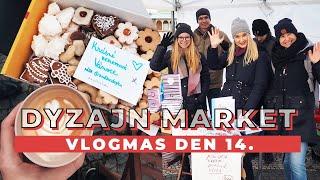 VLOGMAS DEN 14. | Dyzajn Market!