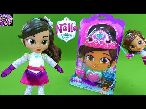 Nella The Princess Knight Toys Talk & Sing Knight Night Tiara Dress Up Style Me Dolls Girl Toys