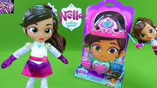 Nella the Princess Knight Toys Talk & Sing Knight Night Tiara Dress Up Style Me Dolls Girl Toys