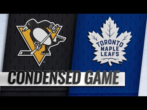 10/18/18 Condensed Game: Penguins @ Maple Leafs