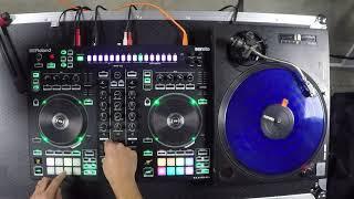 Rock and Soul - Roland DJ-505 2-Channel, 4-Deck DJ Controller for Serato DJ Demo