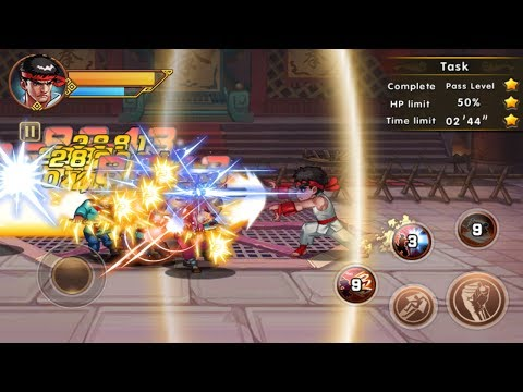 King Of Kungfu:Street Fighting Android Gameplay