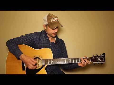 Slow Dance In A Parking Lot - Jordan Davis - Guitar Lesson | Tutorial
