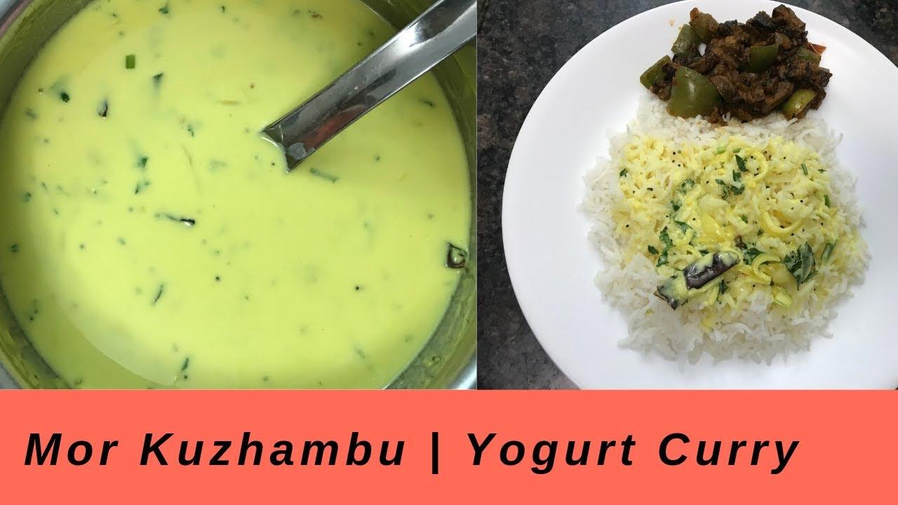 Moru Kuzhambu   Yogurt curry   மோர் குழம்பு   Tamil