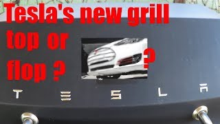 Tesla's New Grill