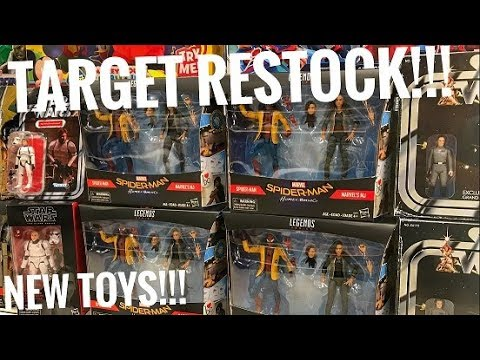 51a23da627e17 EP102- Marvel Legends Spider-Man & MJ Homecoming 2pack Target Exclusive/  Walgreens Toy Hunt