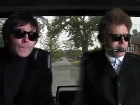 Rare Footage: John Lennon and Bob Dylan in a cab