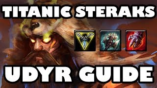 Titanic Steraks Tiger | New Runes Lethal Tempo Udyr Jungle Guide [7.22]