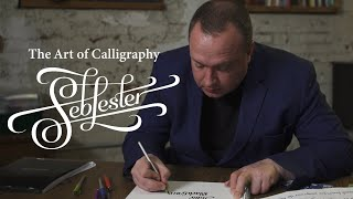 Seb Lester and the Art of Calligraphy | Skillshare Shorts