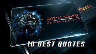 Mortal Kombat: Annihilation 1997 - 10 Best Quotes