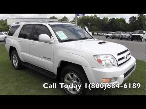2005 Toyota 4Runner Sport 4x4 Charleston Car Review Videos * For Sale @  Ravenel Ford SC