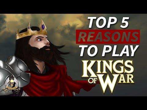 Top 5 Reasons To Play Kings Of War