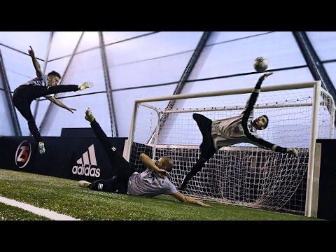I2BOMBER VS PRO GOALKEEPER - Goal/Parate ASSURDE