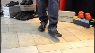 Спортивные мужские туфли кожаные