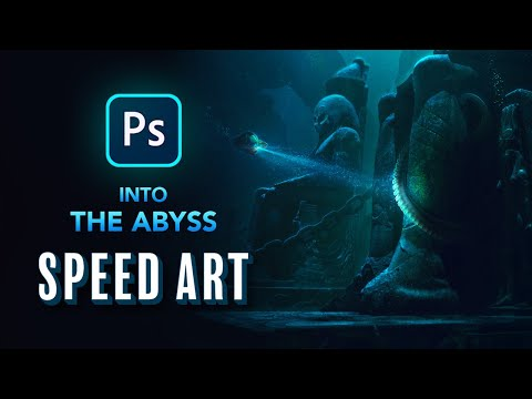 Into The ABYSS - Photoshop Speed Art