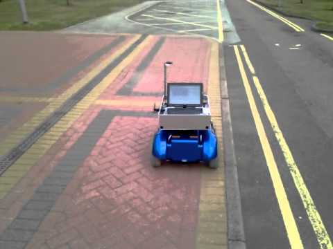 Outdoor Autonomous Navigation for a Mobile Robot