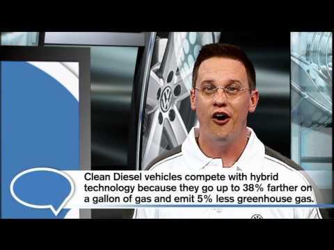 Diesel vs. Hybrid: Volkswagen's Clean Diesel Technology Shows Potential