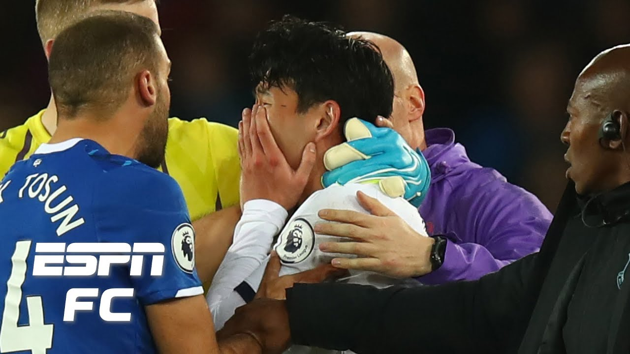 Son Heung Min Has To Bear Responsibility For Andre Gomes Challenge Shaka Hislop Premier League