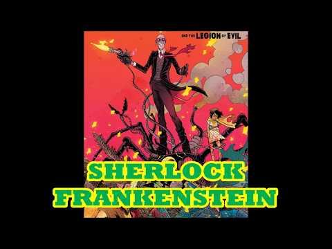 SHERLOCK FRANKENSTEIN IS COMIC BOOK VERSION OF HARRY LIME DARK HORSE COMIC BOOK REVIEW