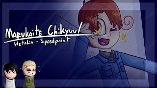 Video [ SpeedPaint ] Marukaite Chikyuu! ( Hetalia ) download MP3, 3GP, MP4, WEBM, AVI, FLV Juli 2018