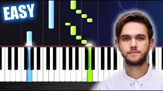 Zedd, Maren Morris, Grey - The Middle - EASY Piano Tutorial by PlutaX