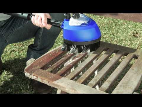 Demonstration of how to use Nilfisk multi brush