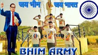 Bhim Army song // Bhim ki  Sena // Bhimrao Ambedkar// Dance by 🌟Rockstar group🌟 from Jaunpur