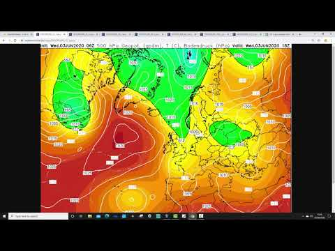 Five Day Weather Forecast: 3rd To 8th June 2020