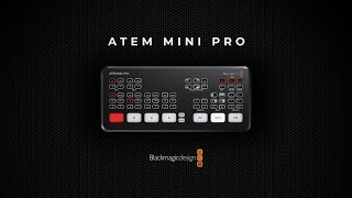 Blackmagic ATEM Mini Pro | Features