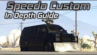 GTA Online: Speedo Custom In Depth Guide (Stats, .50 Cal vs Minigun, and More)