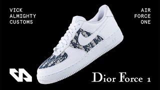 air force 1 per dior