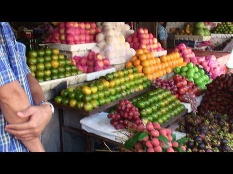 Cambodia Market - Amazing Tropical Fruit