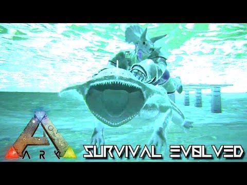 ARK SURVIVAL EVOLVED - NEW DINO DIPLOCAULUS & KAPROSUCHUS TAMING !!! (GAMEPLAY NEW UPDATE v248)