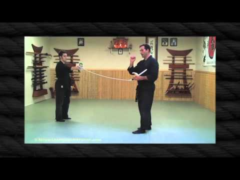 Kyoketsu Shoge Part 2 - Ninjutsu weapon - Ninja Training Video