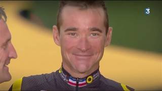 Thomas Voeckler - Interview Stade 2 arrivée Tour 17